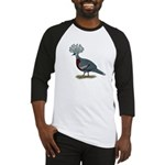 Victoria Crowned Pigeon Baseball Jersey