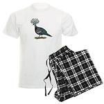 Victoria Crowned Pigeon Men's Light Pajamas