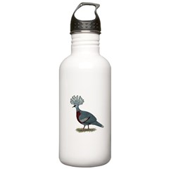 Victoria Crowned Pigeon Water Bottle