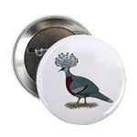 "Victoria Crowned Pigeon 2.25"" Button (10 pack"