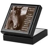 You See A Horse Keepsake Box