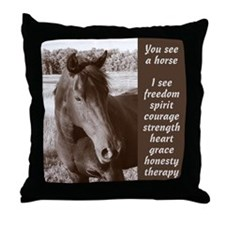 YSAH Throw Pillow