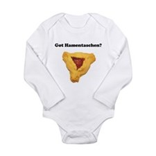 Cute Purim Long Sleeve Infant Bodysuit