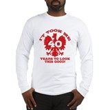 40th Birthday Polish Long Sleeve T-Shirt