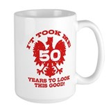 50th Birthday Polish Mug