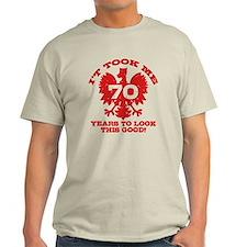 70th Birthday Polish T-Shirt