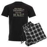 THERAPIST Beagle pajamas