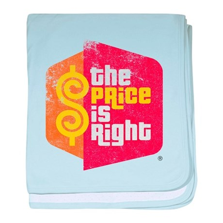 The Price Is Right baby blanket