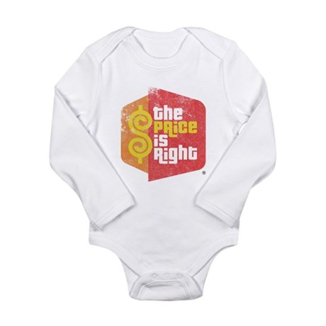 The Price Is Right Long Sleeve Infant Bodysuit
