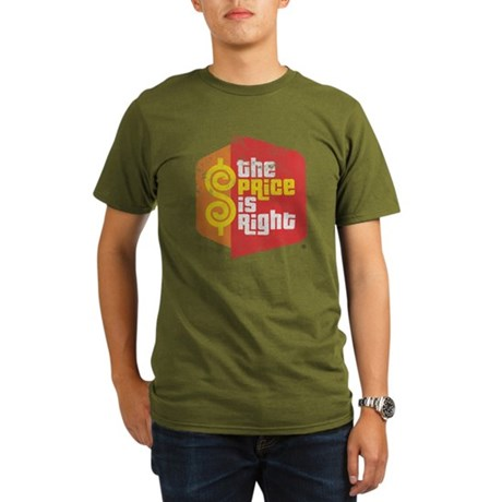 The Price Is Right Organic Mens Dark T-Shirt