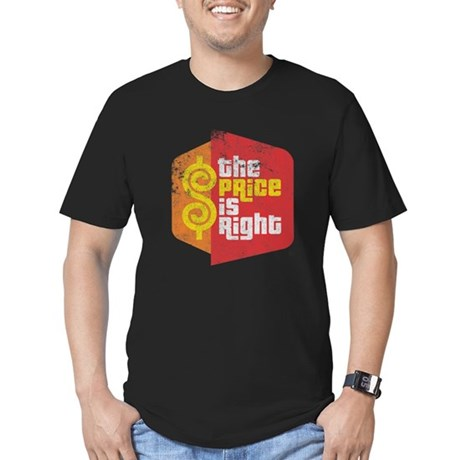 The Price Is Right Mens Fitted Dark T-Shirt