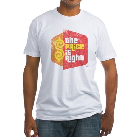 The Price Is Right Fitted T-Shirt