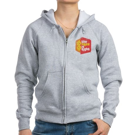 The Price Is Right Womens Zip Hoodie