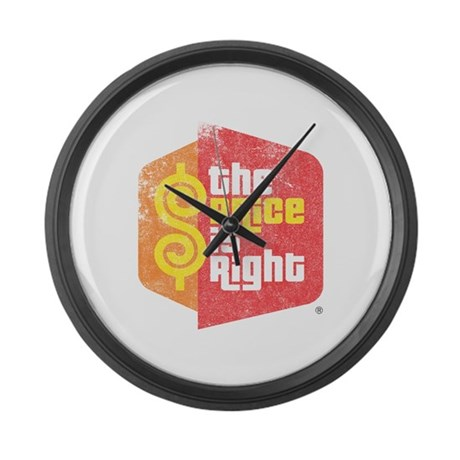 The Price Is Right Large Wall Clock