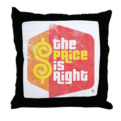 The Price Is Right Throw Pillow