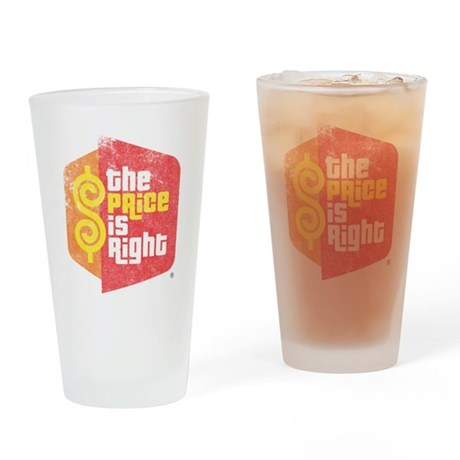 The Price Is Right Drinking Glass