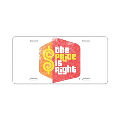 The Price Is Right Aluminum License Plate