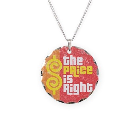 The Price Is Right Necklace Circle Charm