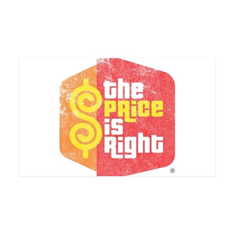 The Price Is Right 38.5 x 24.5 Wall Peel