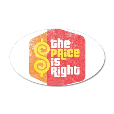 The Price Is Right 22x14 Oval Wall Peel