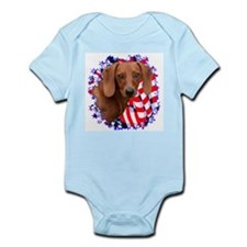 Doxie 3 Infant Creeper