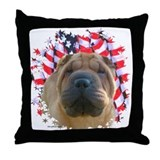 Shar-Pei 2 Throw Pillow