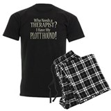 THERAPIST Plott Hound pajamas