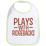 PLAYS Ridgebacks Bib