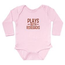 PLAYS Ridgebacks Long Sleeve Infant Bodysuit