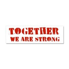 Strength in Numbers Car Magnet 10 x 3
