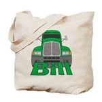 Trucker Bill Tote Bag