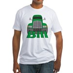 Trucker Bill Fitted T-Shirt