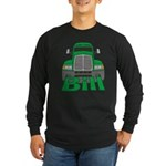 Trucker Bill Long Sleeve Dark T-Shirt