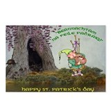 Happy St Patricks Day Postcards (Package of 8)