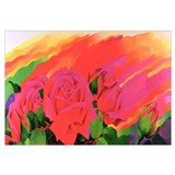 The Rose in the Festival of Light, 1995 (acrylic o