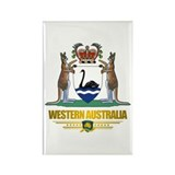 """Western Australia COA"" Rectangle Magnet"