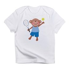 Tennis Monkey Infant T-Shirt