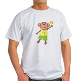 Softball Monkey T-Shirt