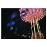 Low angle view of a carousel, Amusement Park, Stut