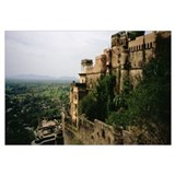 High angle view of a fort, Neemrana Fort Palace, A
