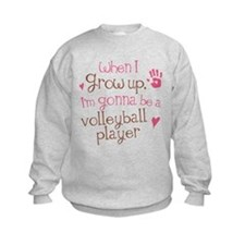 Future Volleyball Player Sweatshirt