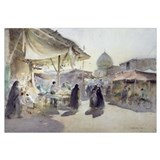 Light and Shade, Shiraz Bazaar, 1994 (w/c on paper