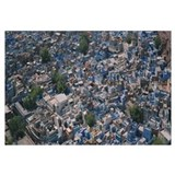 High angle view of a city, Jodhpur, Rajasthan, Ind