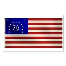 Bennington 1776 Flag Rectangle Decal