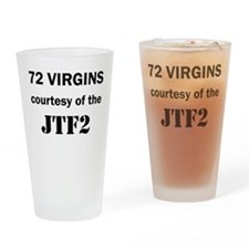 72 Virgins from JTF2 Drinking Glass