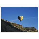 Low angle view of a hot air balloon in the sky, Ta