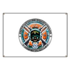 US Coast Guard 1790 Skull Banner