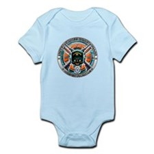 US Coast Guard 1790 Skull Infant Bodysuit