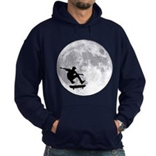 Moon skateboard Hoody