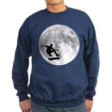 Moon skateboard Sweatshirt